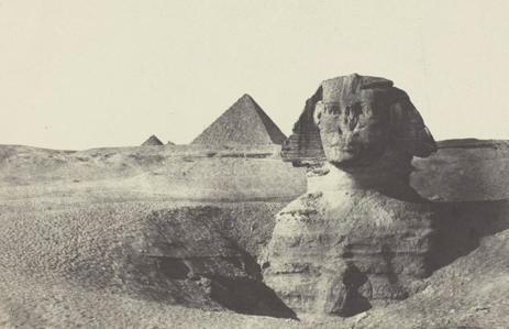 Fig. 2. Le Sphynx vu de Face, Egypte Moyenne