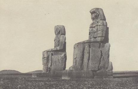 Fig. 5. Gournah, Les Colosses; Thèbes