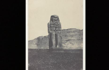 Fig. 6. Gournah, Statue de Memnon; Thèbes