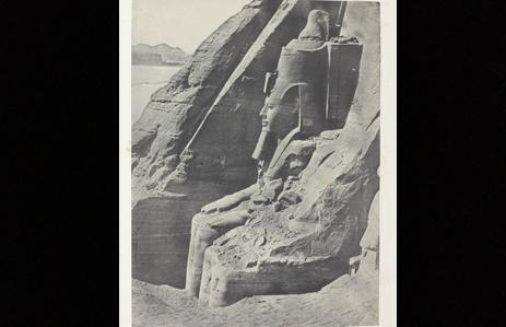 Fig. 8. Ibsamboul, Colosse Oriental Du Spéos de Phrè, Nubie