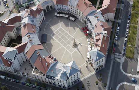 Place de Toscane, Val d'Europe, Marne-la-Vallée, Francia