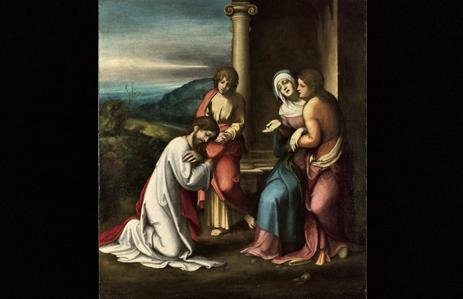 Fig. 2. Commiato di Cristo dalla Madre.