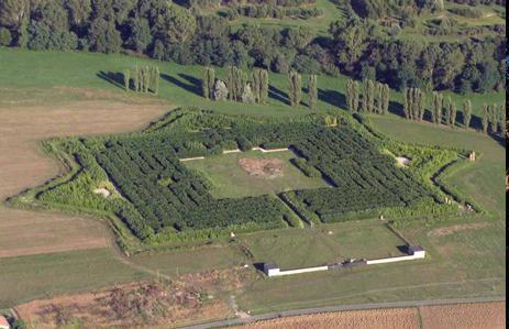 Il labirinto prima del cantiere