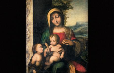 Fig. 1. Madonna con il Bambino e San Giovannino.