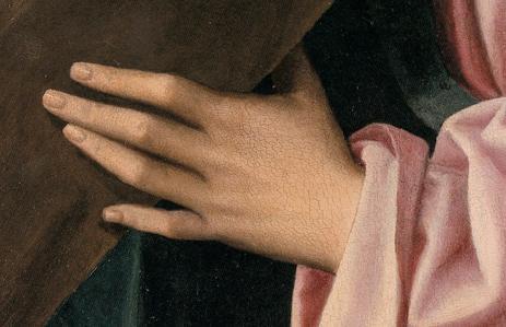 Fig. 5. Cristo portacroce, dettaglio.