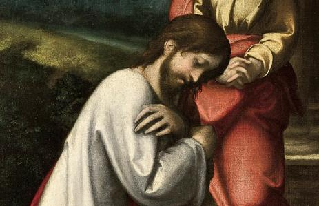 Fig. 4. Commiato di Cristo dalla Madre, dettaglio.