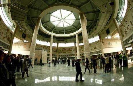 Salone centrale della stazione di Yenikapı