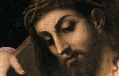 Fig. 7. Cristo portacroce, dettaglio.